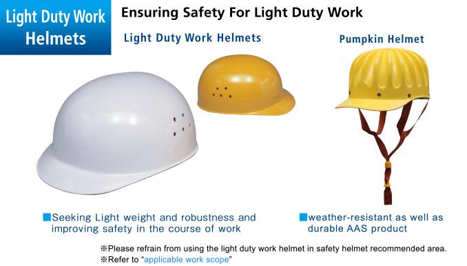 Cap Style Light Duty Work Helmets